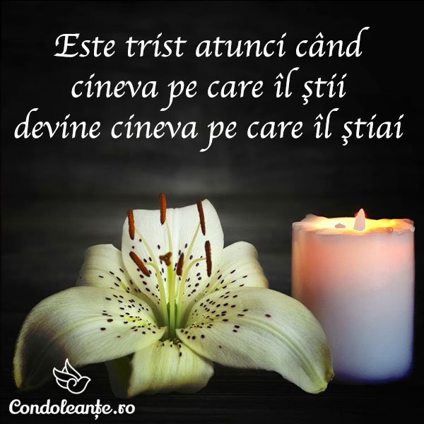 mesaje condoleante citat trist simpatie