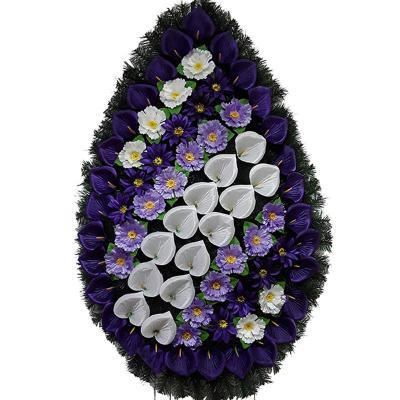 coroana funerara cu flori 45 m1 2