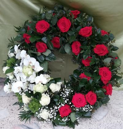 floraria glory rosa funerare 1