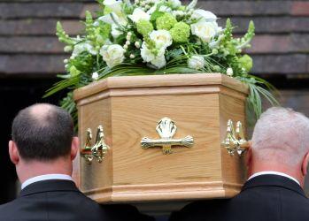 vest funeral